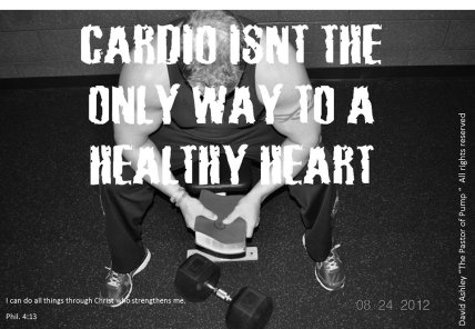 Cardio isn't the only way to a healthy heart.